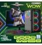 COMBO PC CYBERWOW  (ÚNICO...